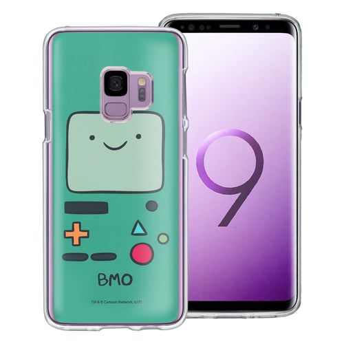 Galaxy S9 Plus Case Adventure Time Clear TPU Cute Soft Jelly Cover - Face Beemo (BMO)