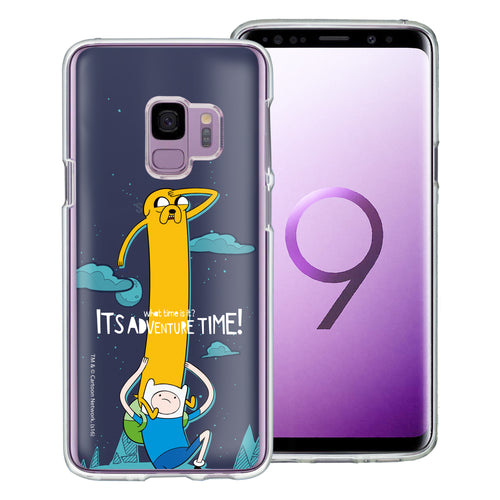 Galaxy S9 Plus Case Adventure Time Clear TPU Cute Soft Jelly Cover - Cuty Jake Long