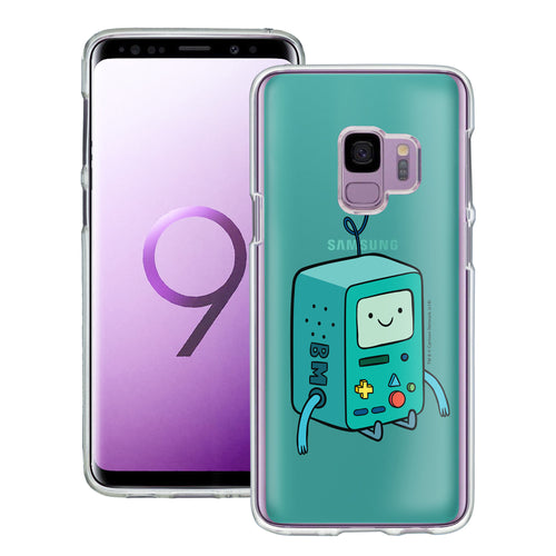 Galaxy S9 Plus Case Adventure Time Clear TPU Cute Soft Jelly Cover - Vivid BMO