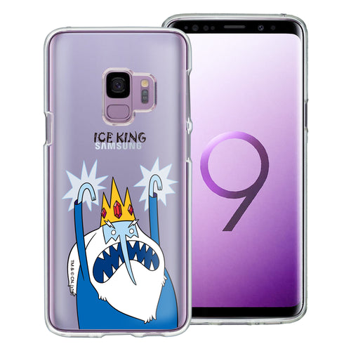 Galaxy S9 Plus Case Adventure Time Clear TPU Cute Soft Jelly Cover - Lovely Ice King