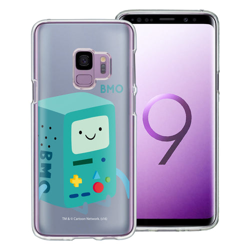 Galaxy S9 Plus Case Adventure Time Clear TPU Cute Soft Jelly Cover - Cuty BMO