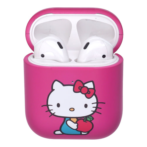 Sanrio AirPods Case Protective Hard PC Shell Cute Cover - Hello Kitty Apple