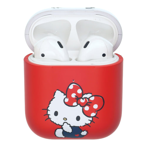 Sanrio AirPods Case Protective Hard PC Shell Cute Cover - Hello Kitty Big Ribbon
