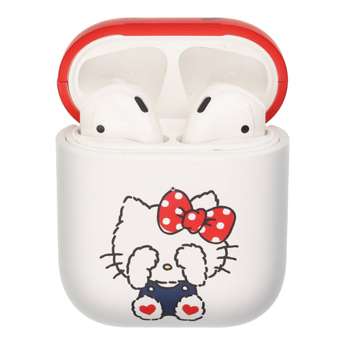 Sanrio AirPods Case Protective Hard PC Shell Cute Cover - Hello Kitty Blindfold