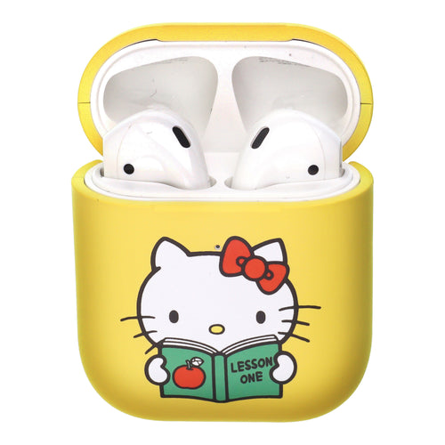 Sanrio AirPods Case Protective Hard PC Shell Cute Cover - Hello Kitty Book