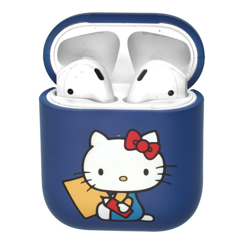 Sanrio AirPods Case Protective Hard PC Shell Cute Cover - Hello Kitty Writing