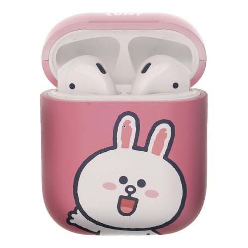Line Friends AirPods Case Protective Hard PC Shell Cute Cover - Greeting Cony