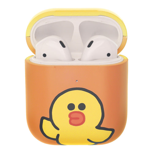 Line Friends AirPods Case Protective Hard PC Shell Cute Cover - Greeting Sally