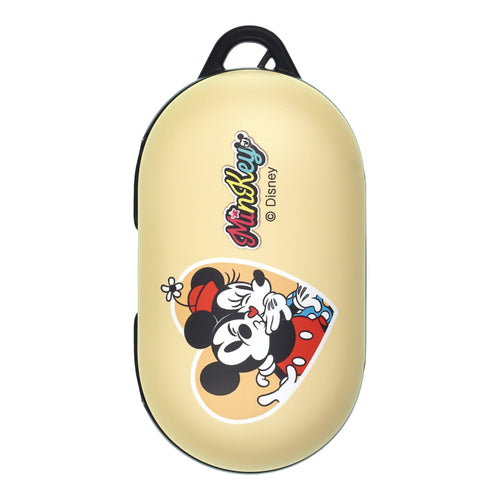 Disney Galaxy Buds Case Galaxy Buds Plus (Buds+) Case Protective Hard PC Shell Cover - Love Mickey Minnie Kiss
