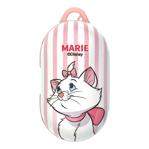 Disney The AristoCats Galaxy Buds Case Galaxy Buds Plus (Buds+) Case Protective Hard PC Shell Cover - Marie Stripe Pink