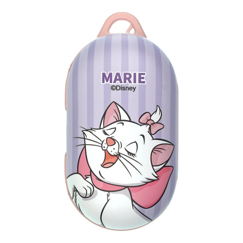 Disney The AristoCats Galaxy Buds Case Galaxy Buds Plus (Buds+) Case Protective Hard PC Shell Cover - Marie Stripe Purple