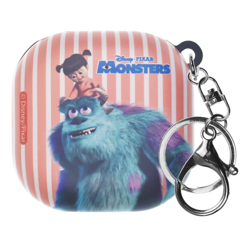 Monsters, Inc., Galaxy Buds Live Case (2020) Key Ring Keychain Key Holder Hard PC Shell Cover - Movie Boo