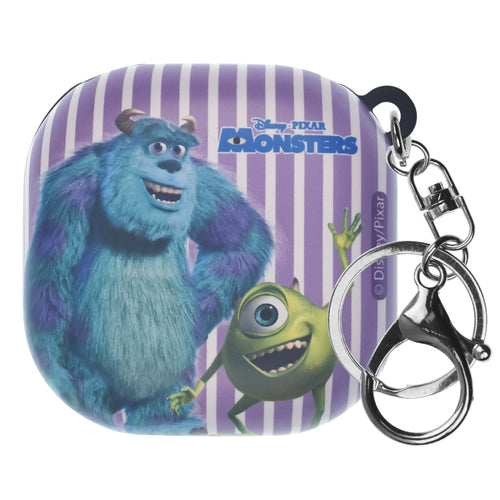 Monsters, Inc., Galaxy Buds Live Case (2020) Key Ring Keychain Key Holder Hard PC Shell Cover - Movie Mike Sulley