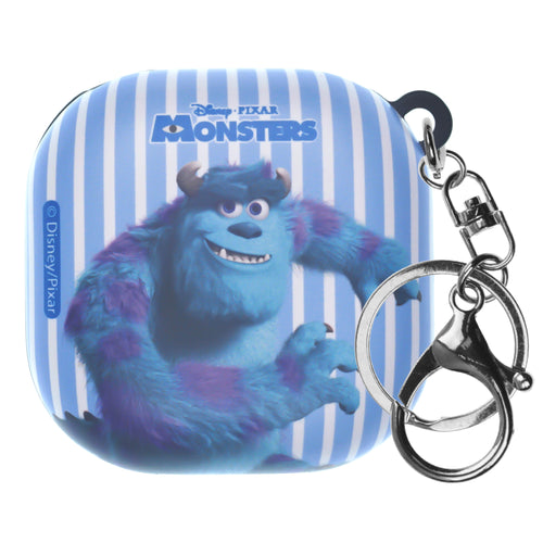 Monsters, Inc., Galaxy Buds Live Case (2020) Key Ring Keychain Key Holder Hard PC Shell Cover - Movie Sulley