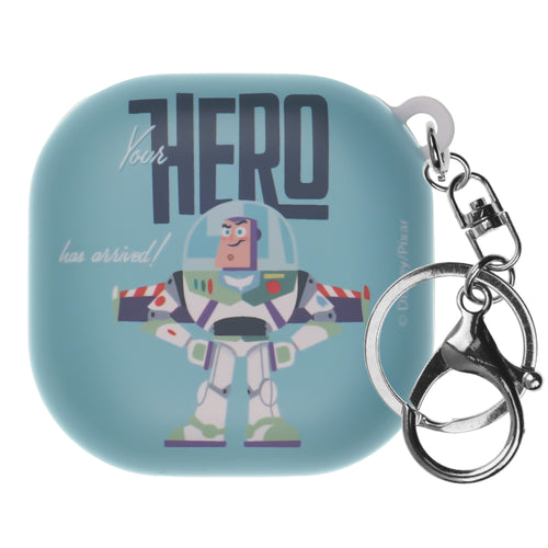 Toy Story Galaxy Buds Live Case (2020) Key Ring Keychain Key Holder Hard PC Shell Cover - Simple Buzz