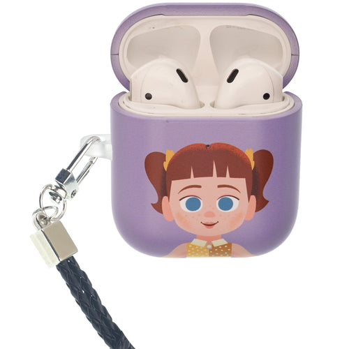 Toy Story 4 AirPods Case Neck Lanyard Protective Hard PC Shell Strap Hole Cover - Simple Gabby Gabby