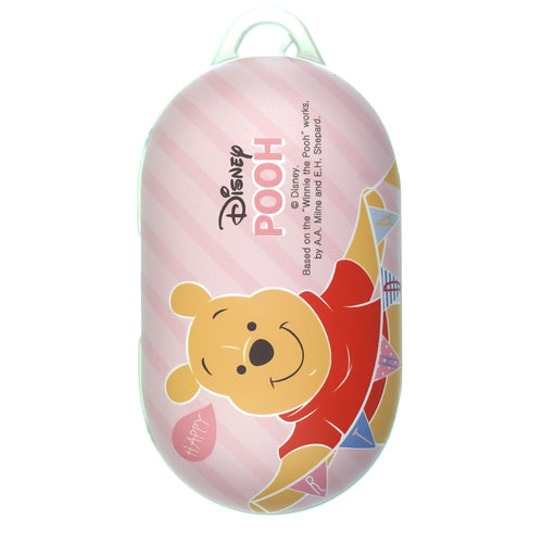 Disney Galaxy Buds Case Galaxy Buds Plus (Buds+) Case Protective Hard PC Shell Cover - Stripe Pooh Happy