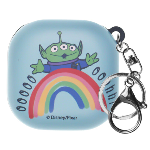 Toy Story Galaxy Buds Live Case (2020) Key Ring Keychain Key Holder Hard PC Shell Cover - Words Aliens