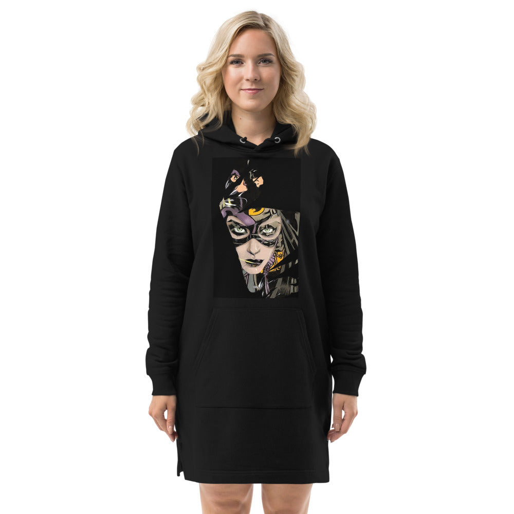 Cat Woman Hoodie dress