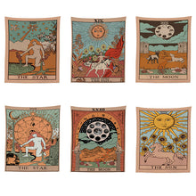 Load image into Gallery viewer, Tarot Card Pattern Wall Deco 95x73CM