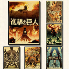 Load image into Gallery viewer, Attack on Titan Posters