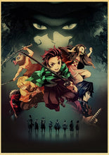 Load image into Gallery viewer, Demon Slayer Anime Poster