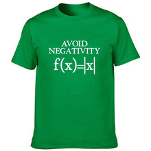 Load image into Gallery viewer, Avoid Negativity Men Funny Mathematics T-Shirt