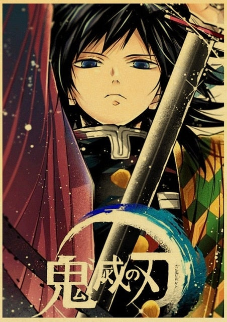 Demon Slayer Anime Poster
