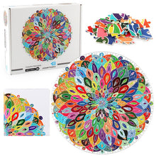 Load image into Gallery viewer, Mandala Jigsaw Puzzle 1000 Piece Puzzles  26.8 * 26.8 inches