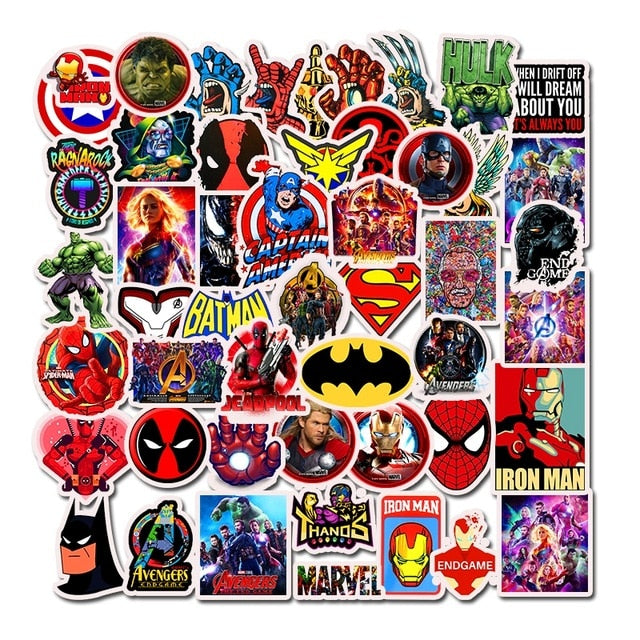 Marvel Super Heroes Stickers