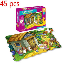 Load image into Gallery viewer, Cartoon Jigsaw Puzzle 35/45/48/100/180 Piece Montessori Educational Toys Big Box Puzzles For Kids