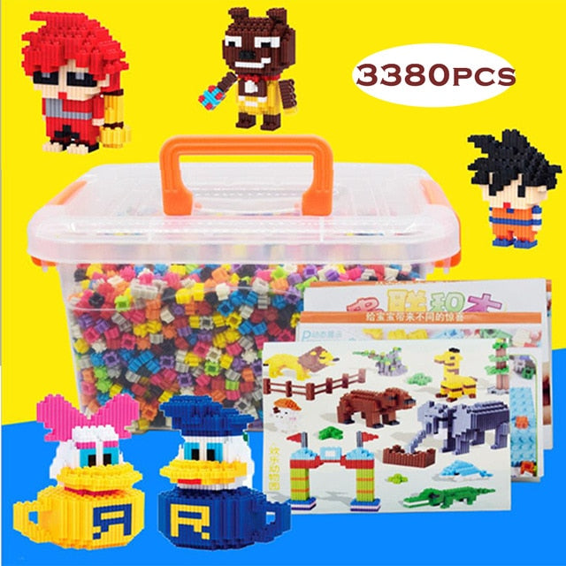 Micro Dimond Building Blocks 3380pcs