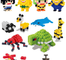 Load image into Gallery viewer, Micro Dimond Building Blocks 3380pcs