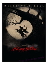 Load image into Gallery viewer, Tim Burton Horror Movies Posters