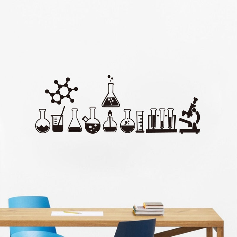 Chemistry Science Wall Sticker