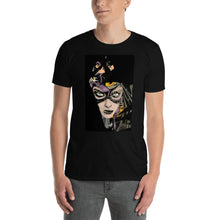 Load image into Gallery viewer, Cat Woman Short-Sleeve Unisex T-Shirt