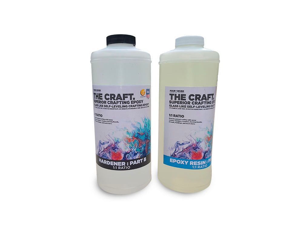 Crafting & General Purpose Epoxy Resin Kit – 70 oz Gallon Kit