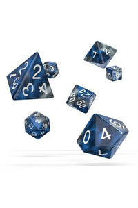 Oakie Doakie Dice RPG Set Gemidice - Liquid Steel (7)