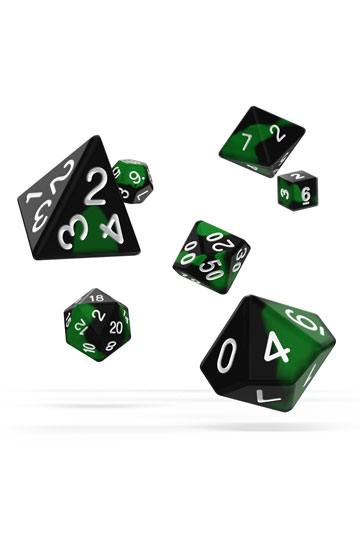 Oakie Doakie Dice RPG Set Glow in the Dark - Biohazard (7)