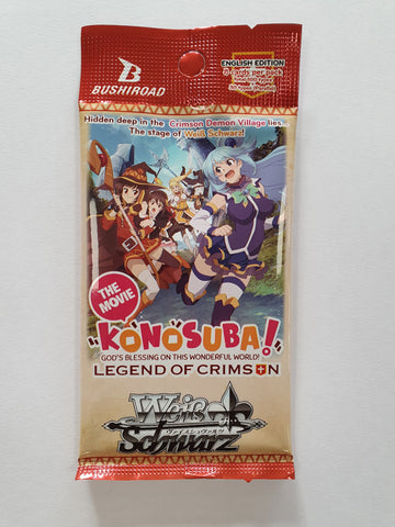 Weiss Schwarz KONOSUBA: God's blessing on this wonderful world! Legend of Crimson Booster