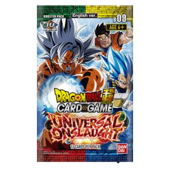 Dragon Ball Super B9 Universal Onslaught Booster Pack
