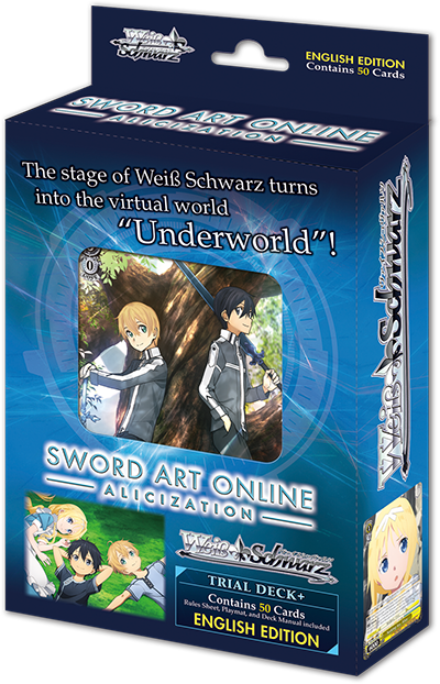 Weiss Schwarz Sword Art Online Alicization Trial Deck+