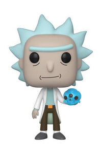 Rick & Morty - Rick with Crystal Skull (692) Funko POP!
