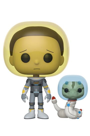 Rick & Morty - Space Suit Morty with Snake (690) Funko POP!