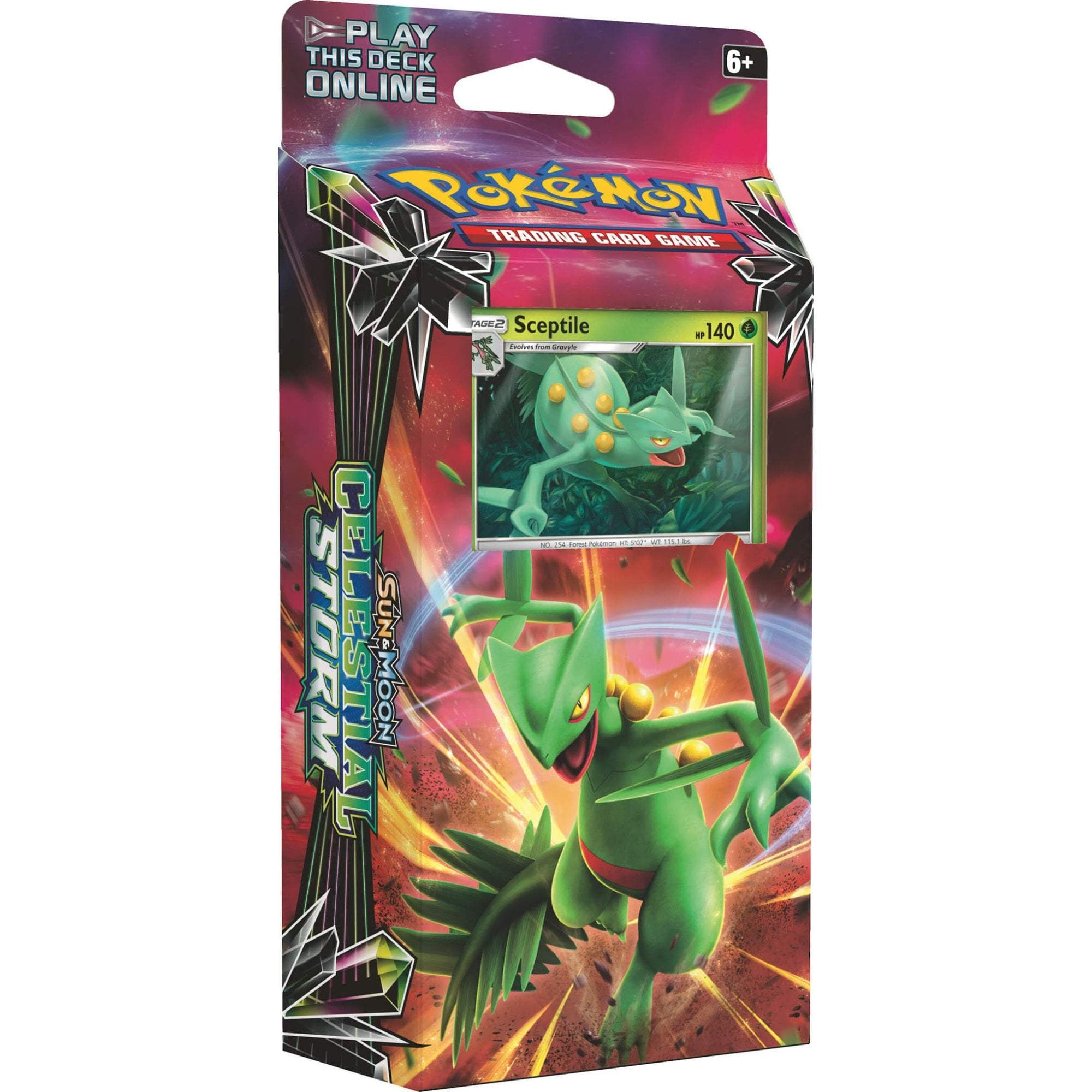 Pokemon Celestial Storm Leaf Charge Theme Deck