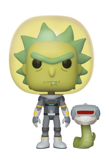 Rick & Morty - Space Suit Rick with Snake (689) Funko POP!