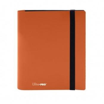 UP Eclipse Pro - 4 Pocket Binder Pumpkin Orange