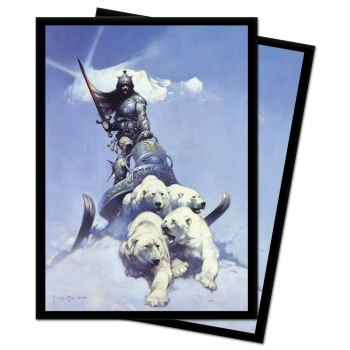 UP Frank Frazetta Silver Warrior - Standard Sleeves 100pc