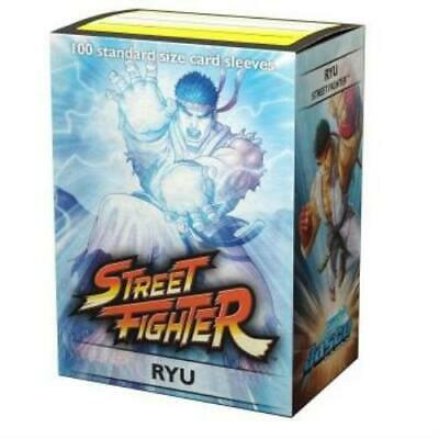 Dragon Shield Street Fighter Ryu Art Sleeves 100pc