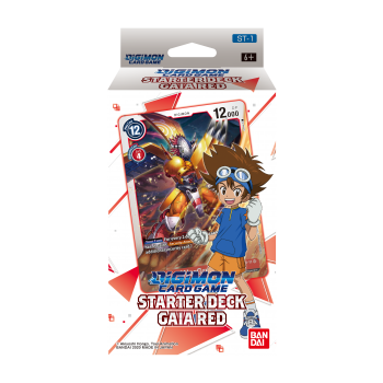 Digimon Card Game - Starter Deck Display Gaia Red (ST-1) *Pre-Order*